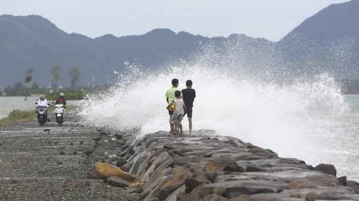 Waspada Gelombang Tinggi di Perairan Indonesia Pada 16-19 Januari 2019