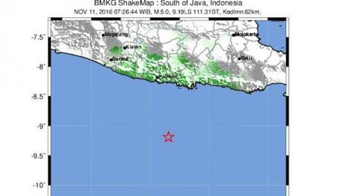 Gempa 4,8 Magnitudo Guncang Yogyakarta, Warga Panik Keluar Rumah Hingga Kepala Terasa Pusing