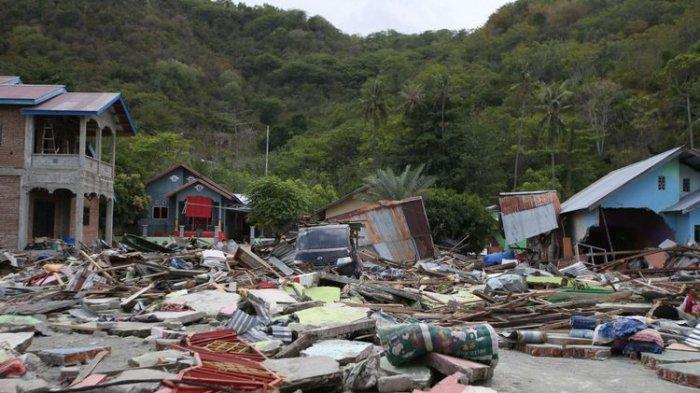 Korban Tewas Gempa dan Tsunami di Sulteng Mencapai 1.424 Orang