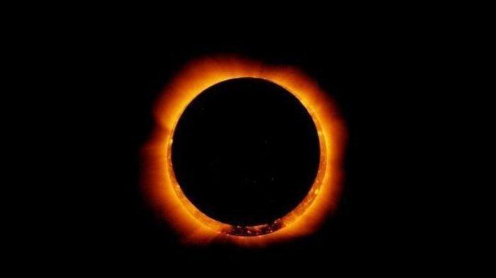 Hari ini Gerhana Matahari Cincin, Begini Prakiraan Cuaca, Tata Cara Sholat Kusuf & Trik Aman Melihat
