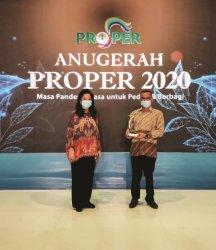 PT SMM Perkebunan Kelapa Sawit Pertama Raih Proper Emas 2020 dari KLHK