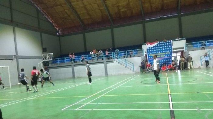 Dinas Pendidikan Hantam Dinas Perikanan 11-1 dalam Futsal Korpri Beltim 2020