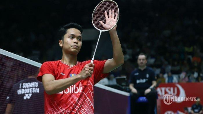 Ginting ke Final Seusai Kalahkan Axelsen di Semifinal Indonesia Master 2020
