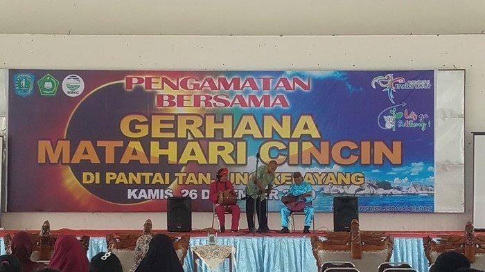 Gerhana Matahahari Cincin di Belitung Hanya Sebagian, Begini Penjelasan BMKG