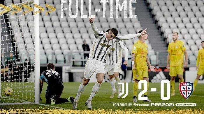 Top Skor Liga Italia 2020, Ronaldo Geser Posisi Zlatan Ibrahimovic, Juventus Taklukkan Cagliari