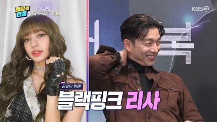 Dikagumi Lisa BLACKPINK, Aktor Korea Gong Yoo Berikan Ini pada Sang Idol