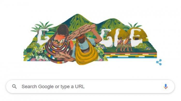 Noken Papua yang Jadi Doodle Google, Karya Seniman Depok yang Ingin Tas Tradisional Lebih Mendunia