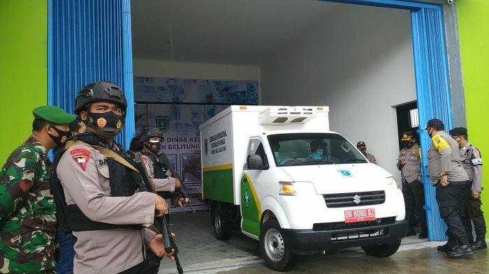 Vaksin Covid-19 Tiba di Belitung
