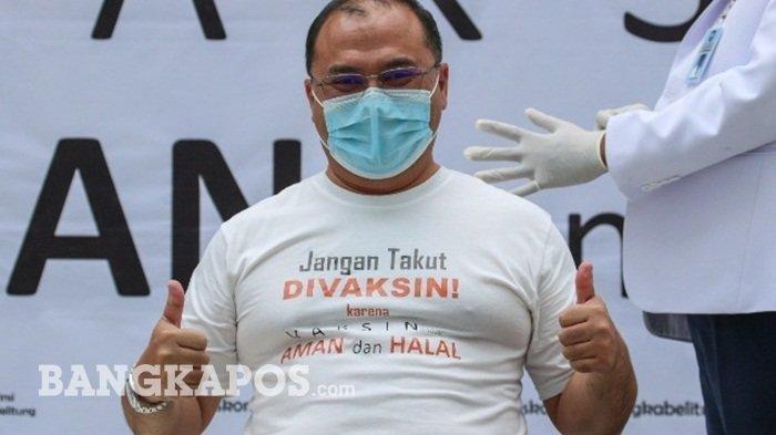 Sudah 264 Orang di Bangka Belitung Disuntik Vaksin Covid-19, Update Kasus 62 Orang Meninggal