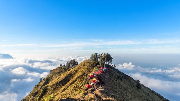 7 Fakta Menarik Dua Pendaki Belitung Terjebak di Gunung Rinjani