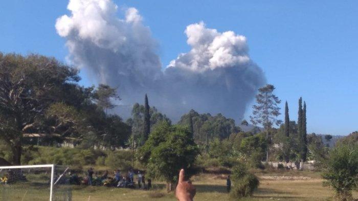Erupsi Gunung Tangkuban Parahu, Kawasan Wisata Ditutup Sementara