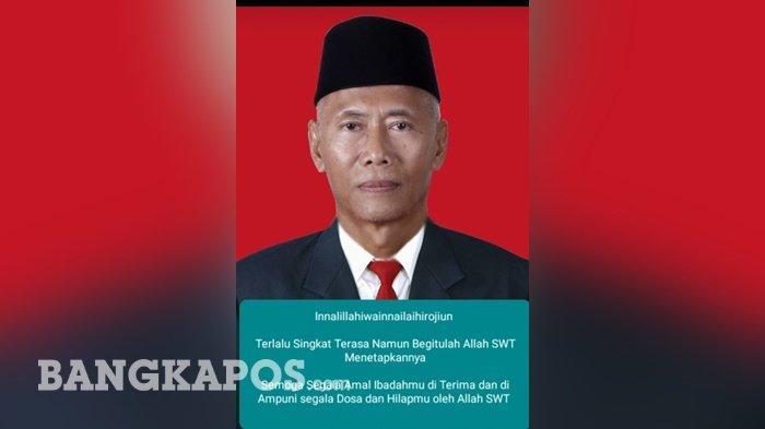 Anggota DPRD Belitung, H Mastop