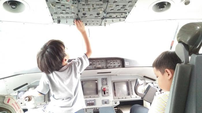 Bocah Ini Ingin Bertemu Eyang Habibie, Mau Tanya Lama Gak Bikin Pesawat?