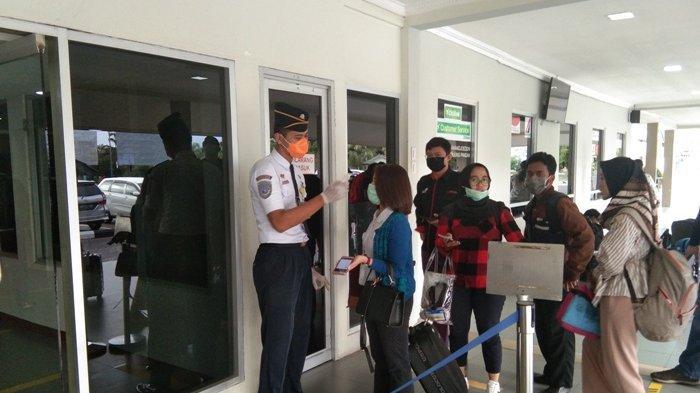Hadapi PSBB di Jakarta, Bandara HAS Hanandjoeddin Belitung Perketat Protokol Kesehatan