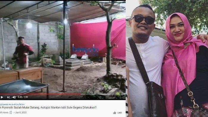 Makam Lina Dipindahkan, Puslabfor Mabes Polri Periksa Kandungan Racun di Tubuh Mantan Istri Sule