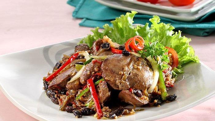 Menu Makan Siang Jadi Lebih Sedap Dengan Hati Ayam Masak Taosi Ini