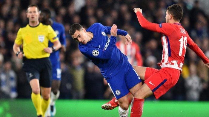Atletico Madrid ke Liga Eropa, Chelsea Melenggang ke Babak 16 Besar, Ini Jalannya Pertandingan