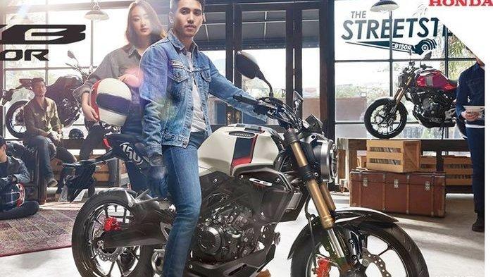 Penampakan Motor Honda CB150R Streeter 2019, Moge Banget