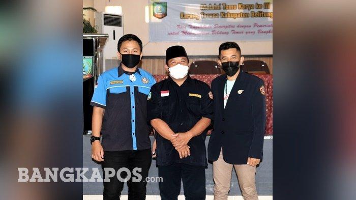 Herman Sujono Jadi Ketua Karang Taruna Belitung Timur 2021-2026, Begini Programnya