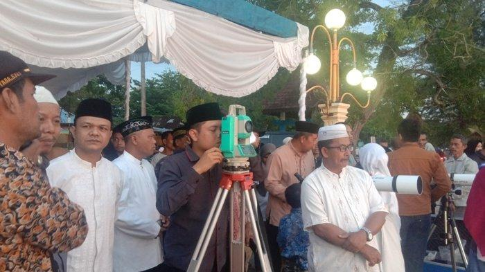 Tertutup Awan, Hilal Tak Terlihat di Kabupaten Belitung