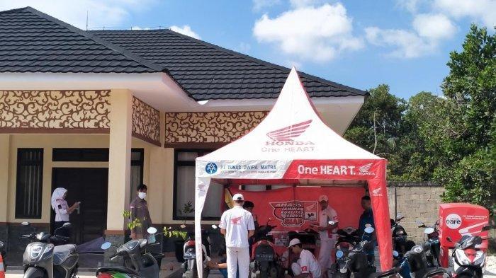 Honda Hoki Honda Berbagi Rezeki, AHASS TDM Belitung Gelar Servis Ekonomis