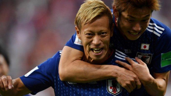 Keisuke Honda Gagalkan Kemenangan Senegal, Masuk Sebagai Pengganti Lalu Cetak Gol