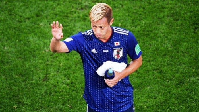 Cetak Gol Saat Jepang Bertemu Senegal, Honda Jadi Pemain Asia Cetak Gol Terbanyak di Piala Dunia