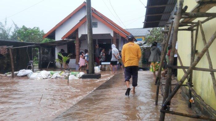 Banjir Rob Landa Kecamatan Manggar, Dari 9 Desa Tiga Desa Ini yang Dinilai Parah