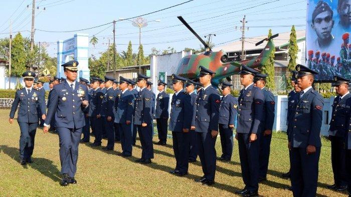Peringati Hari Bakti TNI AU ke-72, Danlanud ASH Ajak Anggotanya Terus Berinovasi dan Berprestasi