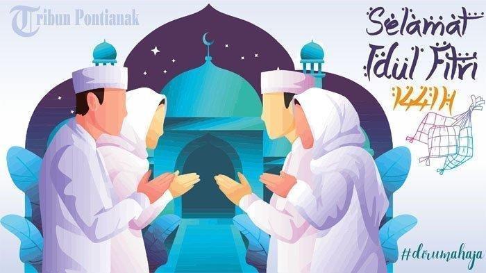 Ucapan Idul Fitri Memakai Doa Dalam Bahasa Arab Beserta Artinya Pos Belitung
