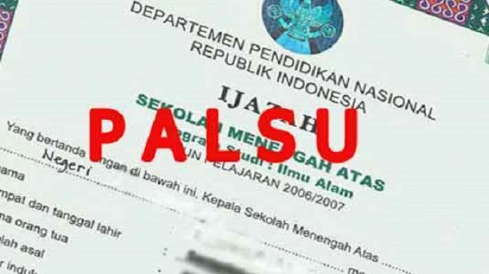 Dindikbud Belitung Temukan Ijazah Palsu, Sebut Ulah Oknum di PKBM, Diduga Ada Ratusan Korban