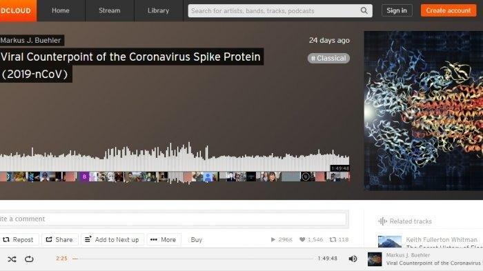 Ilmuwan Amerika Ubah Struktur Virus Corona jadi Lantunan Musik, Beginilah Suara Virus Corona