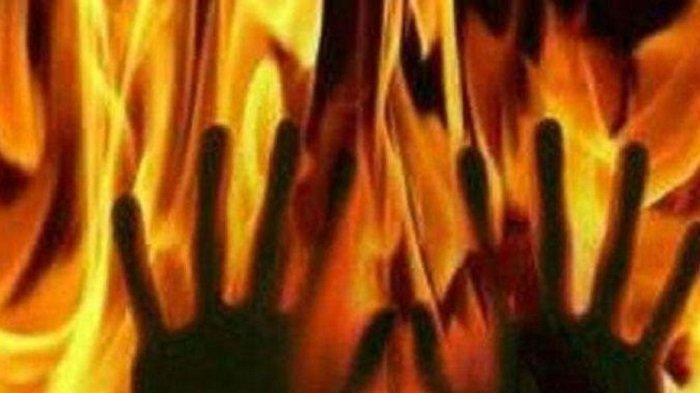 Suami Siram Bensin ke Tubuhnya dan Istri Lalu Hidupkan Korek Api, Ini yang Terjadi