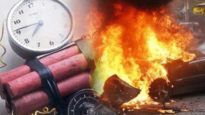 Potongan Tubuh Manusia Berserakan di Lokasi Ledakan Bom Bunuh Diri di Makassar