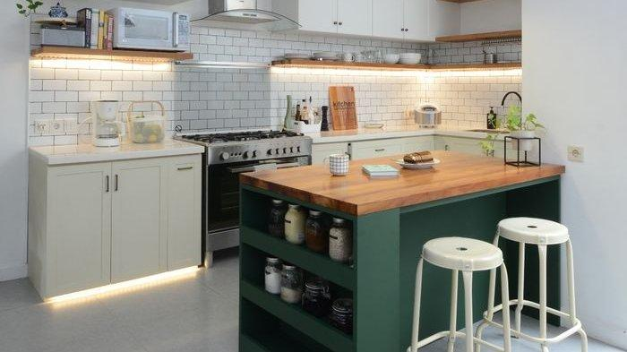 Tambahkan Aksen Metalik hingga Masukkan Unsur Tanaman, Ragam Tips agar Dapur Lebih Instagramable