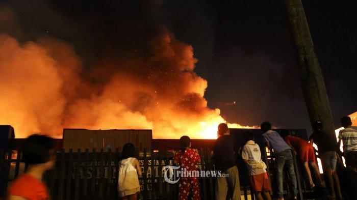Rumah Dinas Kapolsek Asologaima Terbakar