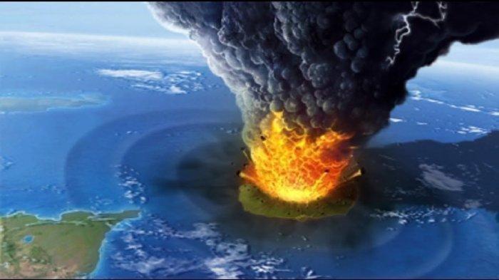 Letusan Krakatau 1883, Setara 30 Ribu Kali Bom Atom Hiroshima, Tewaskan 36.417 Jiwa