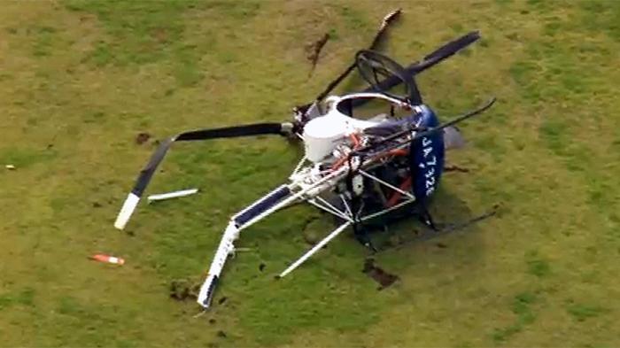 BREAKING NEWS:Helikopter Jatuh di Paniani Papua, Para Penumpangnya Kritis