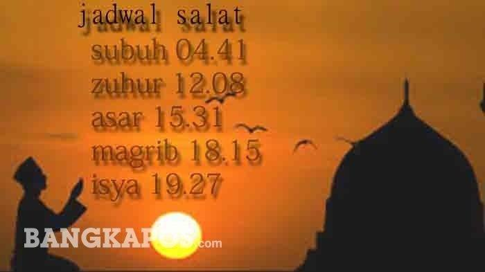 Jadwal Salat Magrib 11 Agustus di Belitung, Beltim, Sungailiat & Pangkalpinang Serta Lokasi Masjid
