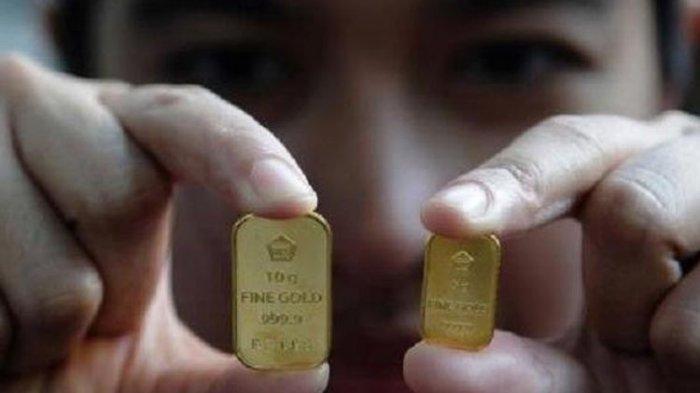 Harga Emas Antam Sentuh Rekor Tertinggi, Capai Rp 1.022.000 Per Gram
