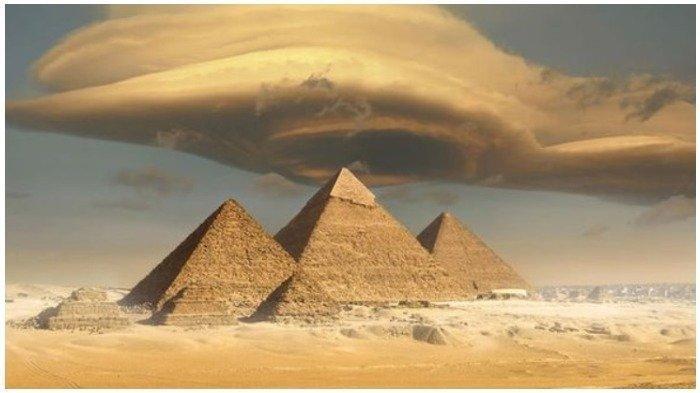 Terungkap Begini Cara Pekerja Mengangkut Batu untuk Membangun Piramida Mesir