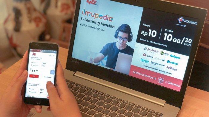 Telkomsel Hadirkan Paket Ilmupedia, Dukung Kemudahan Belajar Daring