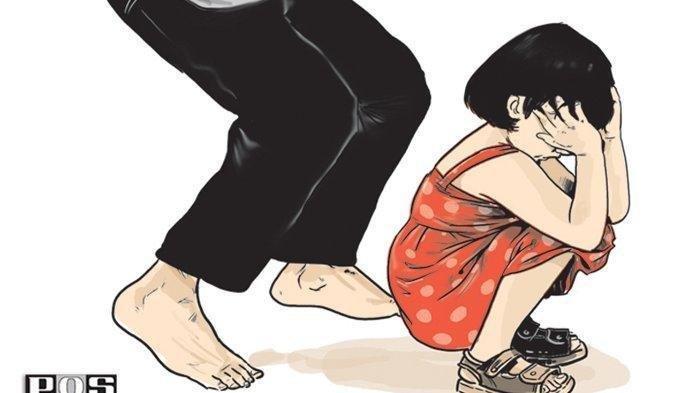 Mengendam Lewat Pintu Belakang, Kakek 61 Tak Kuat Tahan Nafsu Lihat Gadis  Rebahan di Kasur