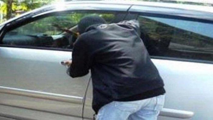 Buntuti Korban dari Bank, Pencuri Pecah Kaca Mobil dan Embat Tas Ransel Berisi Uang Puluhan Juta