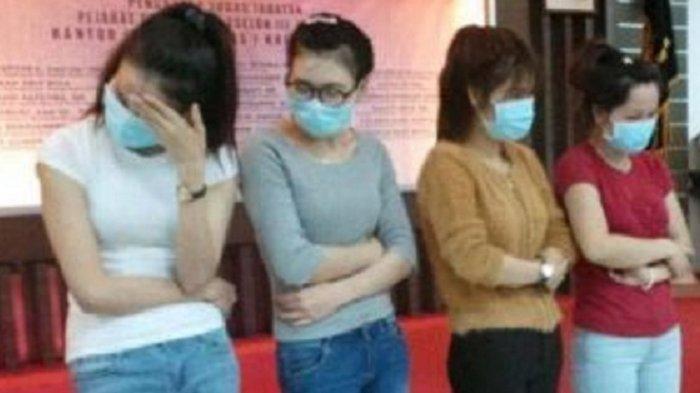 Prostitusi Online Terbongkar, 45 Cewek Jual Diri di Michat, Pancing Pria ke Kamar Hotel