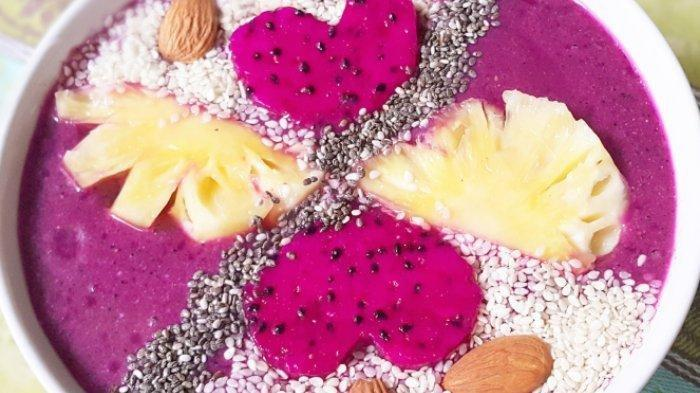 Dessert Buah Naga untuk Menu Buka Puasa, Yuk Dicoba