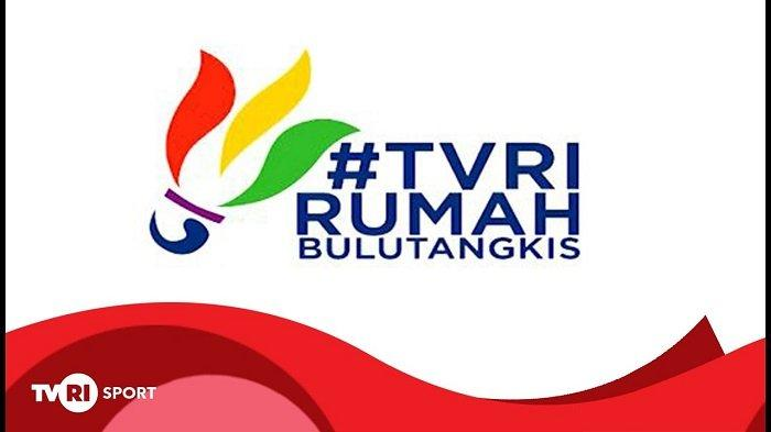 Ilustrasi TVRI Rumah Bulutangkis.