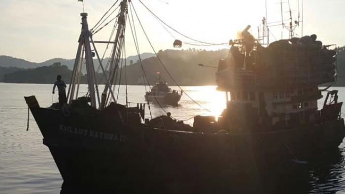 Tiga Kapal Berbendera Vietnam Ditangkap Ditpolair Baharkam Polri