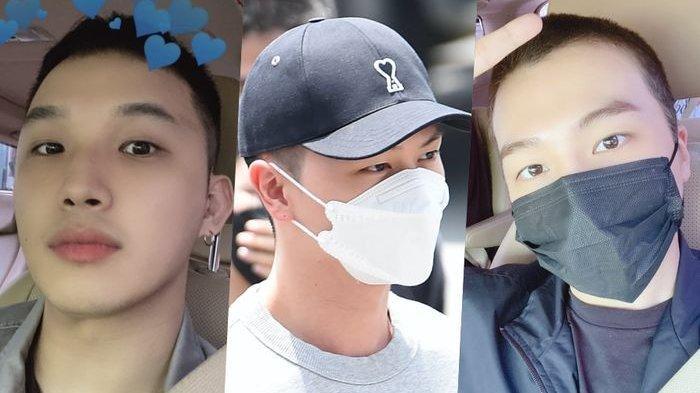 Jinho PENTAGON Serta Im Hyunsik dan Yook Sungjae BTOB Memulai Masa Wajib Militer