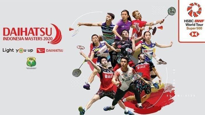 Indonesia Juara Umum Indonesia Masters 2020, Ini Daftar Pemenang